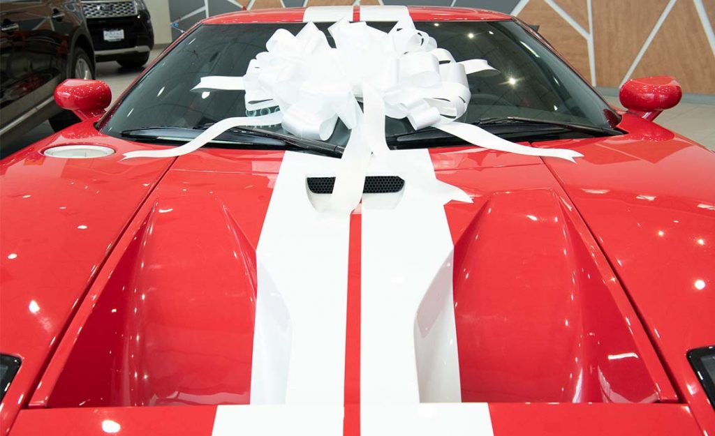 How to shop for a car bow