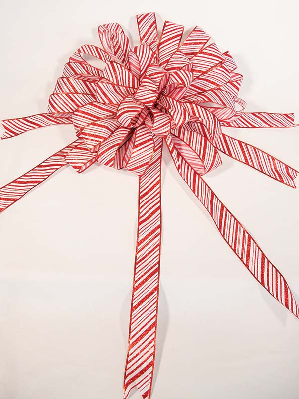 Candy Cane Bow