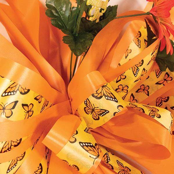 Orange Mother's Day Bow