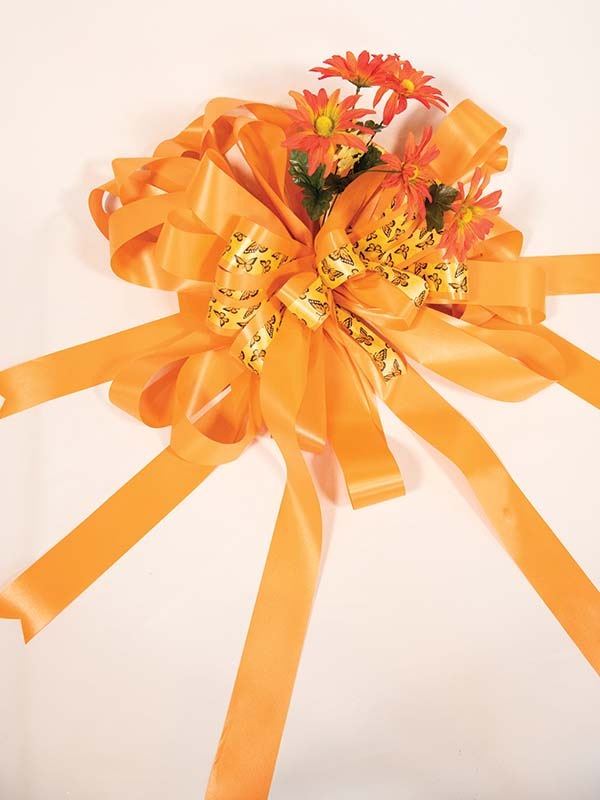 Orange Mother's Day Bow