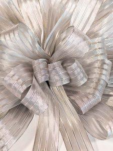 Silver Elegance Bow