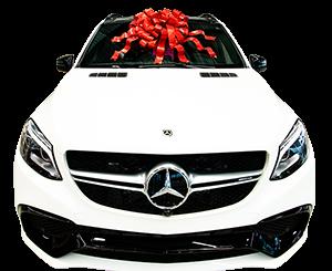Christmas Car Bows